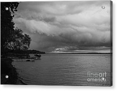 Storm Clouds Acrylic Print by William Norton