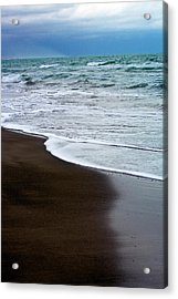 Acrylic Print featuring the photograph Storm Coast by Frank Tschakert