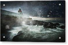 Storm Coming Acrylic Print by Marcin Krakowski