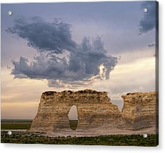 Acrylic Print featuring the photograph Storm Dragon by Rob Graham