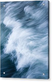 Storm Driven Acrylic Print by Mike  Dawson