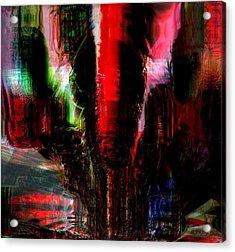 Storm Acrylic Print by Fania Simon