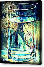 Storm In A Glass Of Water Acrylic Print