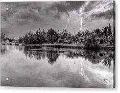 Storm In Paradise Acrylic Print