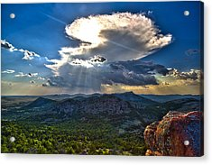 Storm In The Heavens Acrylic Print