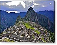 Storm Inbound To Machu Picchu Acrylic Print