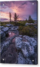 Storm Light Acrylic Print by Joseph Rossbach