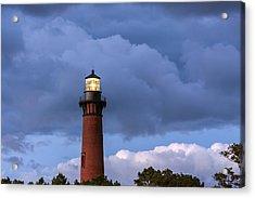 Storm Looms Near Currituck Beach Lighthouse Acrylic Print