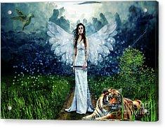 Storm Maiden Acrylic Print