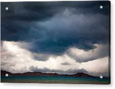 Storm On Karakul Lake Acrylic Print