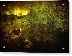 Storm On Lake Washington Acrylic Print by Jeff Burgess
