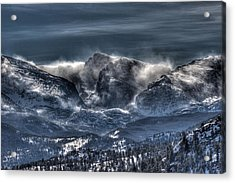 Storm On The Divide Acrylic Print