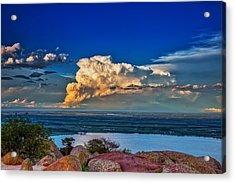 Storm On The Horizon Acrylic Print