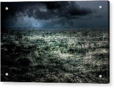Storm On The Sound Acrylic Print