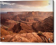 Storm Over Canyonlands Acrylic Print