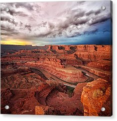 Storm Over Dead Horse Point Acrylic Print