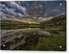 Storm Over Madison River Valley Acrylic Print