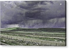 Storm Over Monida Pass  Acrylic Print