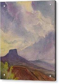 Storm Over Pedernal Acrylic Print