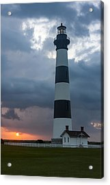 Storm Passes Bodie Island Lighthouse Acrylic Print