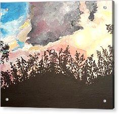 Storm Passing Through Acrylic Print