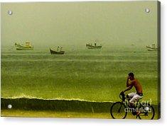 Storm Rider Acrylic Print