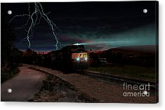 Storm Runners Acrylic Print