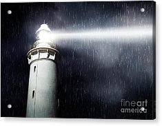Storm Searchlight Acrylic Print