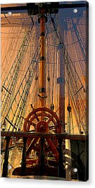 Acrylic Print featuring the photograph Storm Ship Of Old by Lori Seaman
