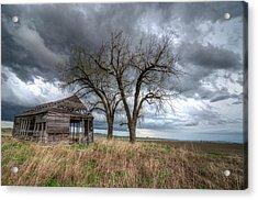 Storm Sky Barn Acrylic Print