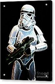 Storm Trooper Acrylic Print by Paul Ward