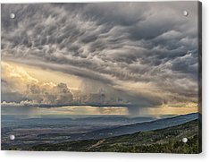 Storm View Acrylic Print