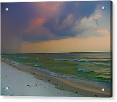 Storm Warning Acrylic Print by Bill Cannon
