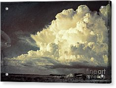 Storm Warning Acrylic Print by Marvin Spates