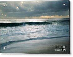 Stormcloud Over Keawaula Beach Acrylic Print
