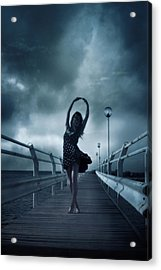 Stormdance Acrylic Print by Cambion Art