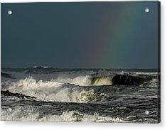 Stormlight Seaside Cove Acrylic Print