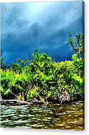 Storms Acrylic Print
