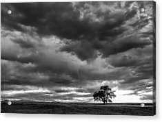Storms Clouds Passing Acrylic Print