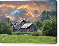 Storm's Coming I Acrylic Print by Jan Amiss Photography