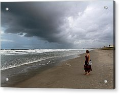 Acrylic Print featuring the photograph Storm's Coming by Ron Dubin