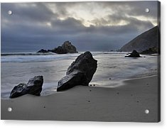 Stormy Afternoon - Big Sur Acrylic Print