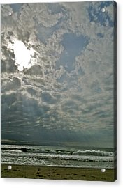 Stormy Afternoon Acrylic Print by Liz Vernand