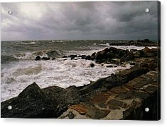 Stormy Day Acrylic Print by John Scates