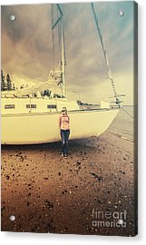 Stormy Day Retreat Acrylic Print by Jorgo Photography - Wall Art Gallery
