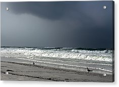 Acrylic Print featuring the photograph Stormy by Debra Forand