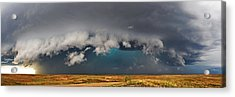 Stormy Horizon Acrylic Print