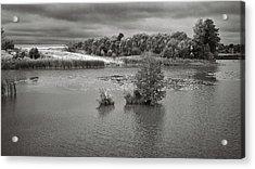 Stormy Lake. Malyi Lystven, 2013. Acrylic Print