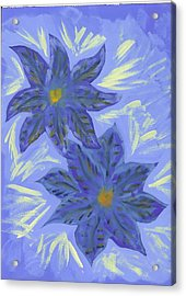 Stormy Monday Acrylic Print by Laura Lillo
