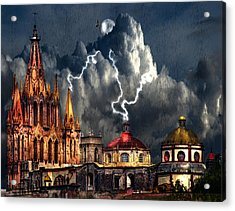 Stormy Night Acrylic Print
